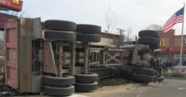 West Chicago Truck Crash