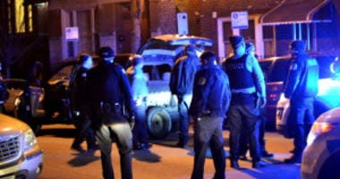 Police Chase In Heart of Chicago