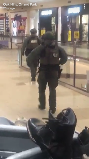 shots fired Orland Square Mall