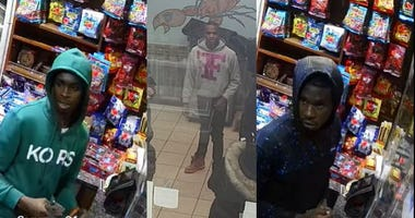 Surveillance footage of male wanted in strong-armed robbery. Chicago police