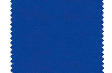 This image released by Pantone shows a classic blue color swatch. The Pantone Color Institute has named Classic Blue as its color of the year for 2020.