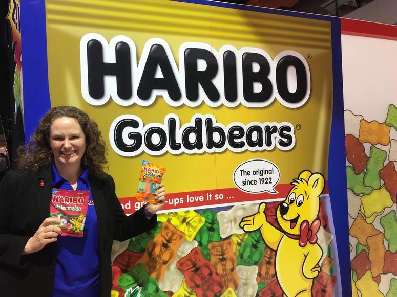 Haribo display at Sweets & Snacks Expo