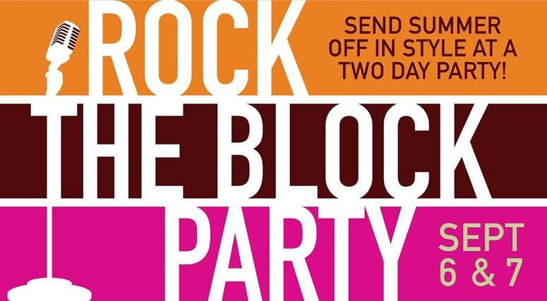 Elmhurst City Centre's Rock the Block Party