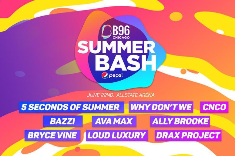 B96 Pepsi Summer Bash 2019