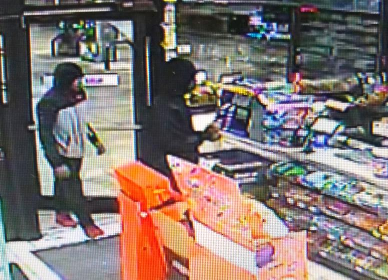 Police say these men robbed a 7-Eleven at gunpoint in Beach Park on Oct. 15, 2019.