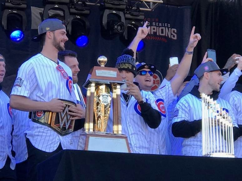 Cubs World Series Rally