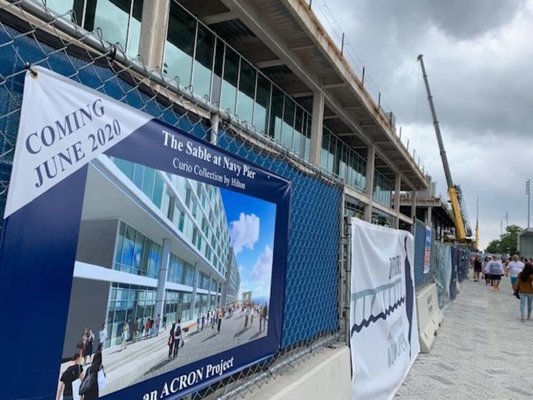 New hotel coming to Navy Pier