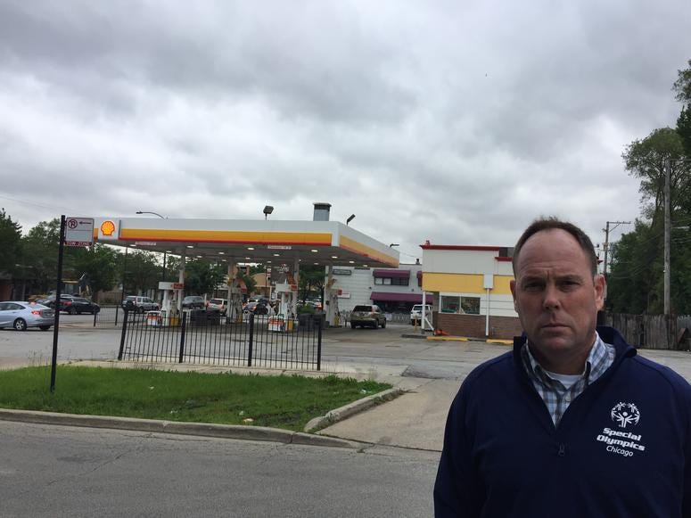 19th Ward Alderman Matt O'Shea is warning residents about a local gas station that has had yet another problem with water in its underground gas tanks.