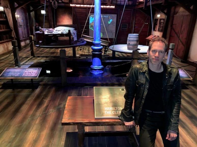 David Korins, Creative Director, Designer, Hamilton: The Exhibition