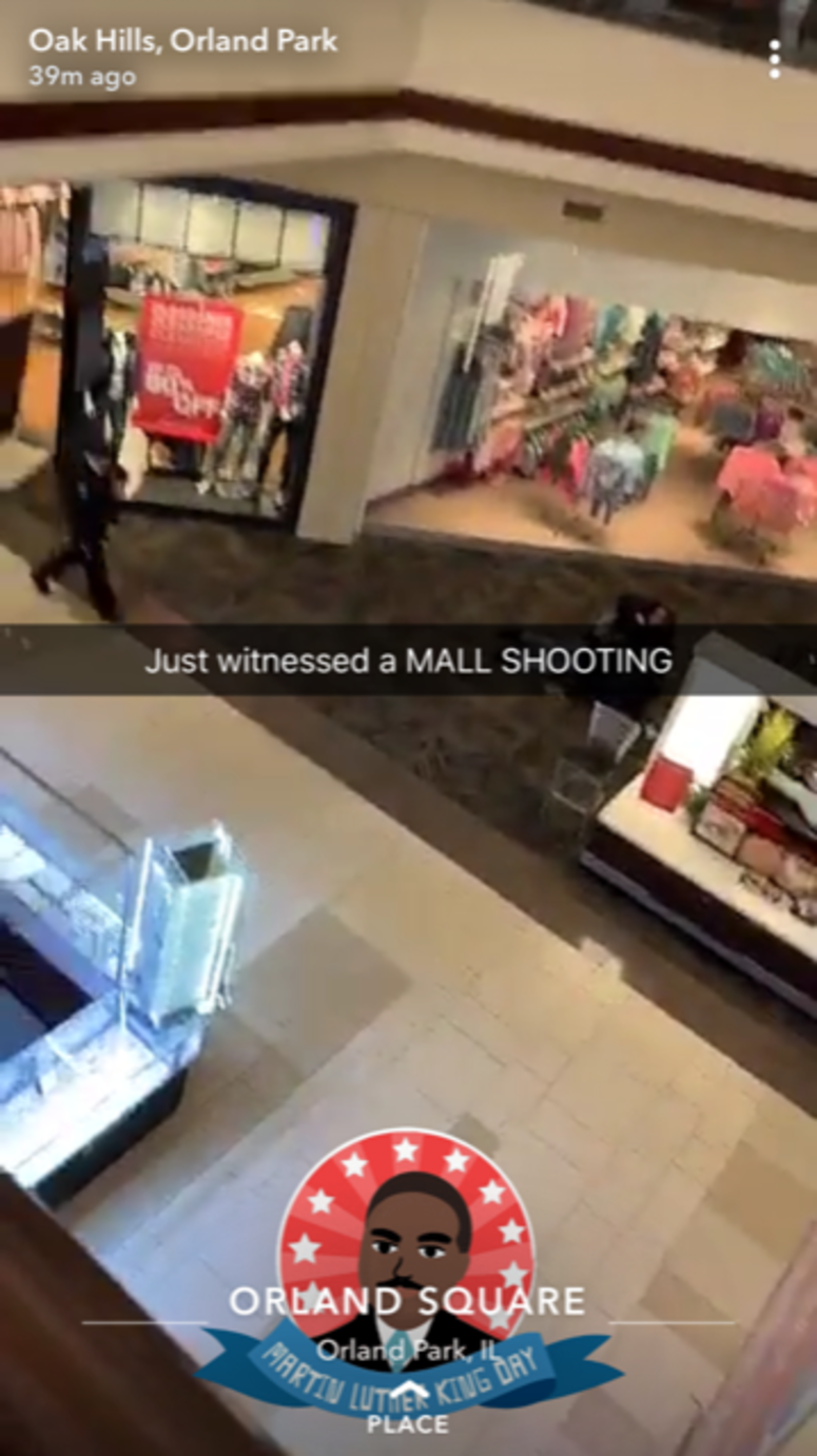 shooting at Orland Square Mall