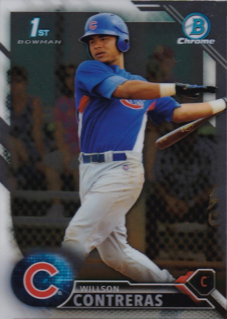Willson Contreras Baseball Card from Topps