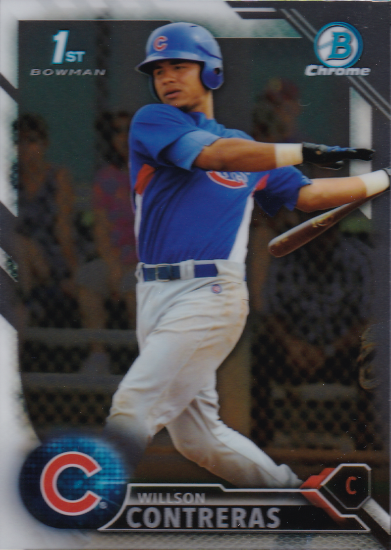 Willson Contreras Baseball Card from Topps