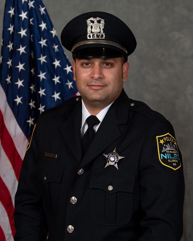 Niles Police Officer Brian Zagorski
