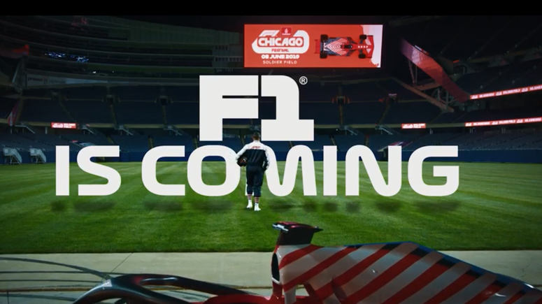 Promo video with Mitch Trubisky for The Emirates F1 Chicago Festival