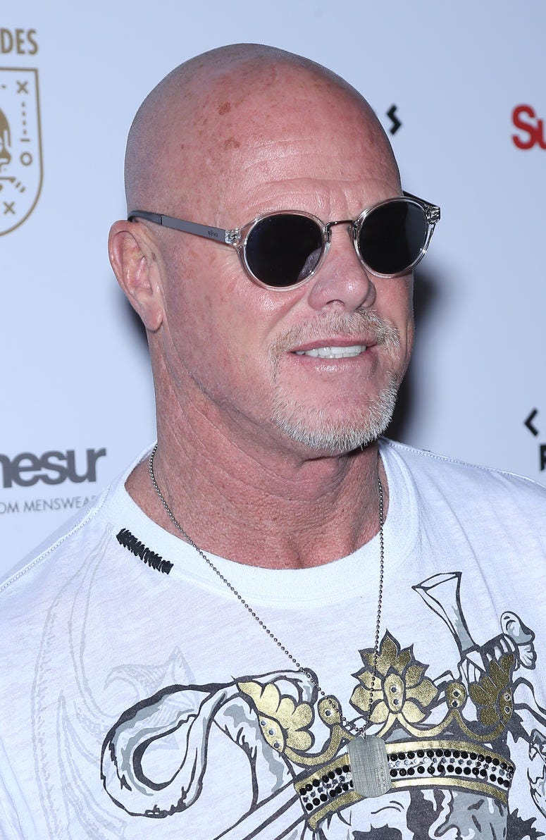 """2/9/2018 - Jim McMahon attending the Grand Opening of """"Renegades, Sports Rebels Unleashed!"""", Cleopatra's Barge, Caesars Palace Hotel & Casino, Las Vegas, Nv"""