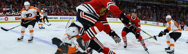 Blackhawks Fall To Flyers