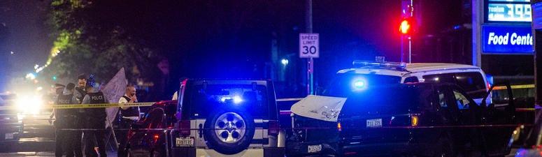 Twelve Injured, Including 10 Cops, In West Side Pile-Up