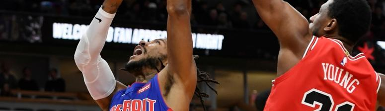 Bulls Hold Off Pistons, Derrick Rose