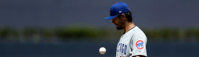 Darvish Strikes Out 14, Cubs Beat Padres