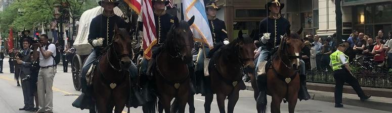 Downtown Memorial Day Parade Honors Fallen Veterans