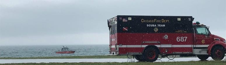 One Man Dead After Being Pulled From Lake Michigan