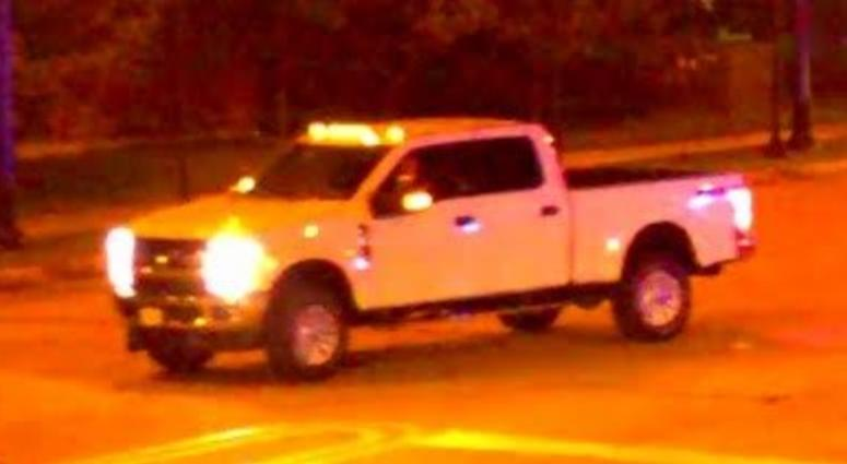 The Ford F-250 pickup truck wanted for a hit-and-run-crash that killed a 59-year-old man in west suburban Lombard.