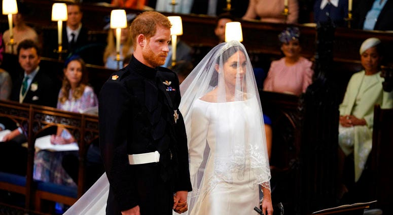 Markle Prince Harry wedding