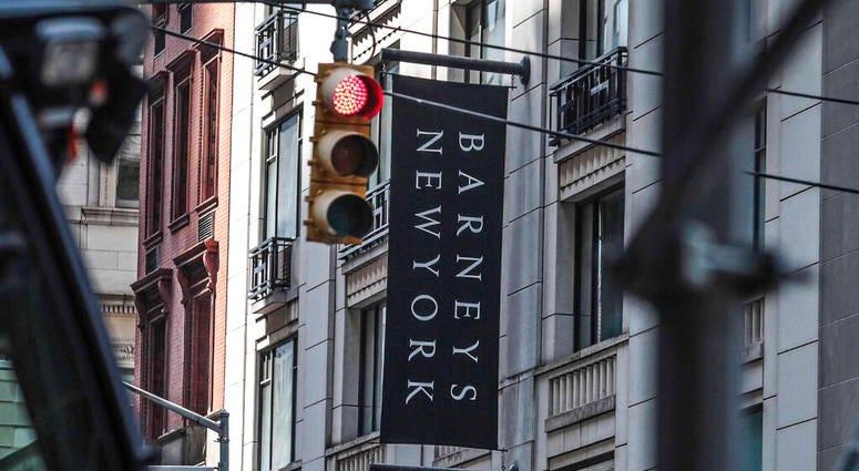 Barneys department store in New York