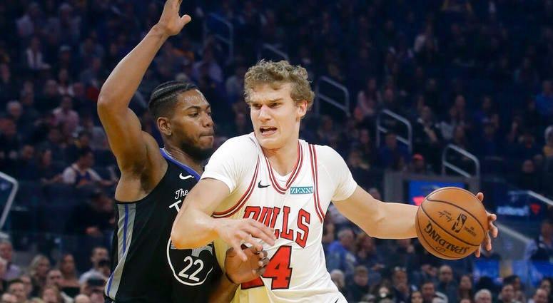 Chicago Bulls forward Lauri Markkanen