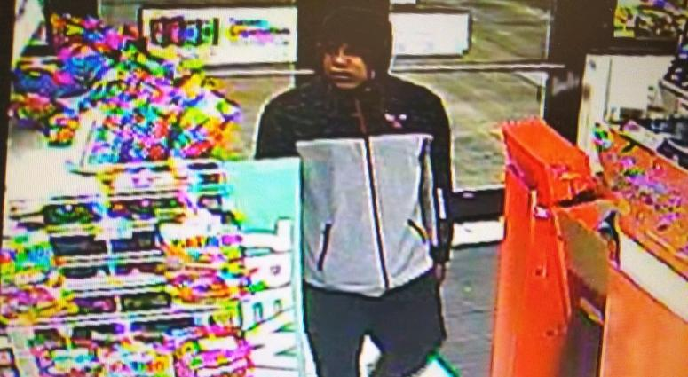 Police say this man robbed a 7-Eleven at gunpoint in Beach Park on Oct. 15, 2019.