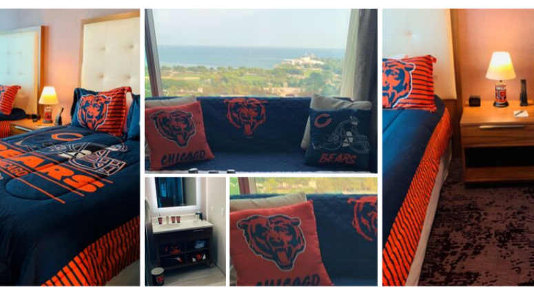 """Ultimate Bears Suite"" at Homewood Suites by Hilton Chicago Downtown South Loop"