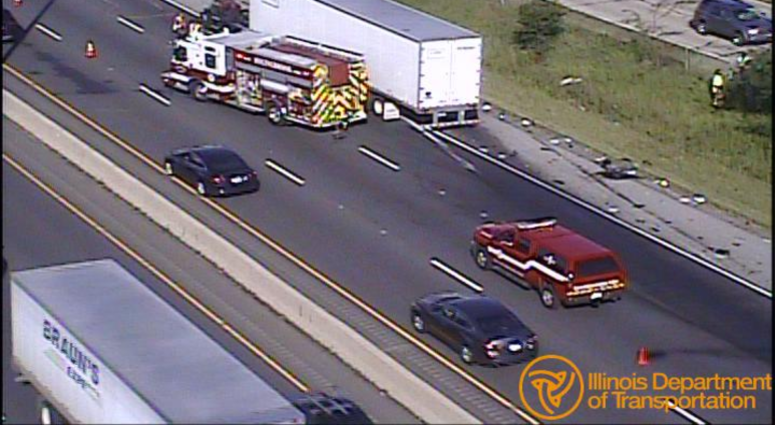 Lanes Blocked On I-55 After Crash Involving 2 Trucks | WBBM-AM