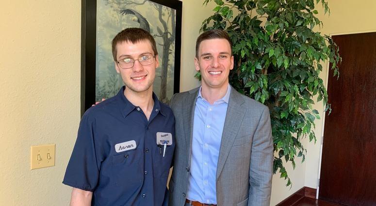 Aaron Maley and Greg Hart, DuPage County's RAMP-UP program