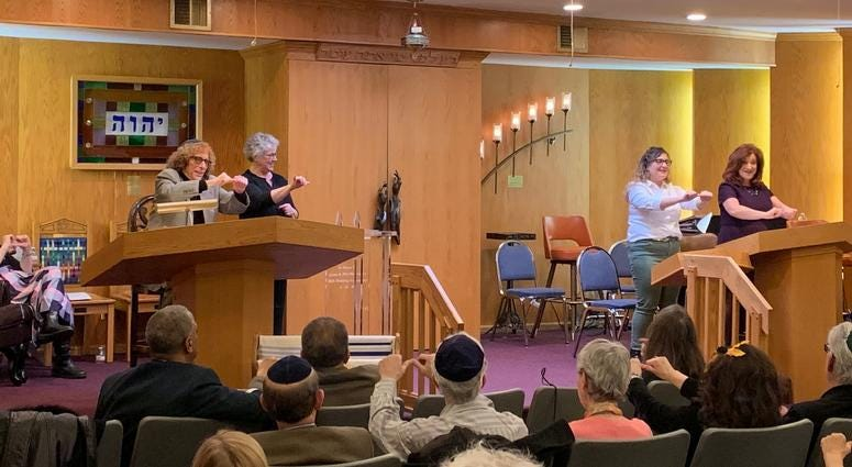 Rabbi Douglas Goldhamer founded Bene Shalom in Skokie 47 years ago.