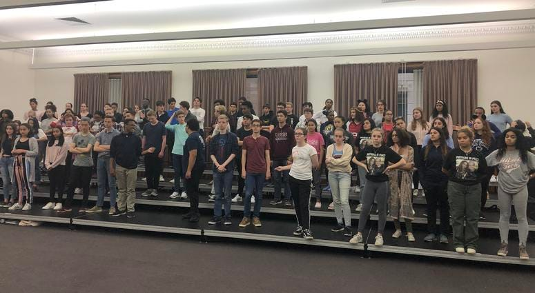 More than 5,000 students from across Chicago will be performing with the cast of Hamilton at a free Millennium Park concert