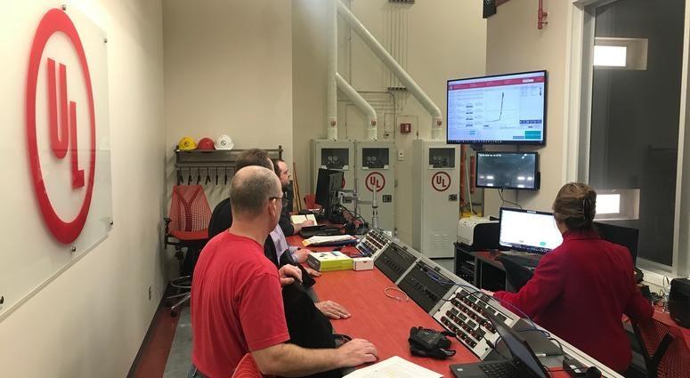 Northbrook Based UL Debuts New Smoke Detector Lab   WBBM-AM