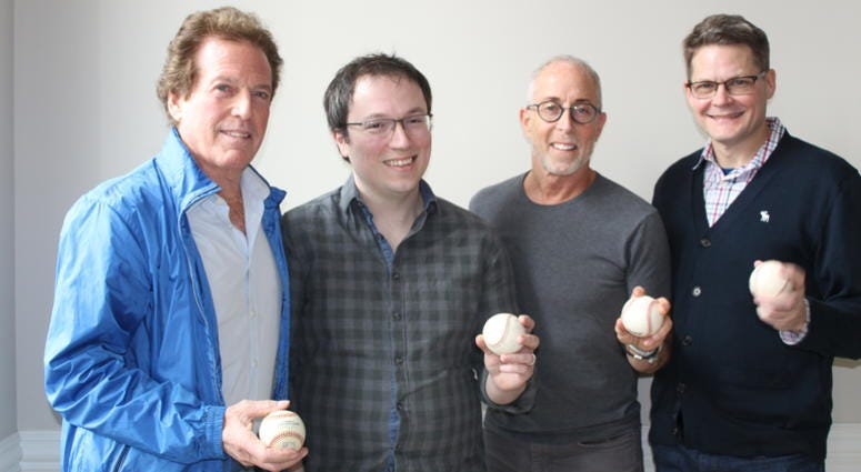William Marovitz, Michael Mahler, Jason Brett, and Damon Kiely