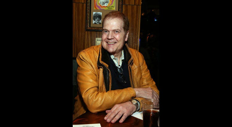 Chet Coppock at Battle of The Bands to Benefit Little Kids Rock at Hard Rock Cafe on February 25, 2015 in Chicago, Illinois.