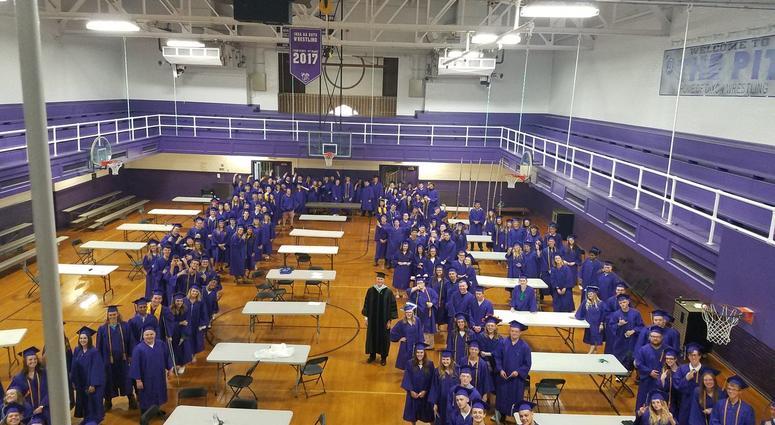 Dixon High School graduation