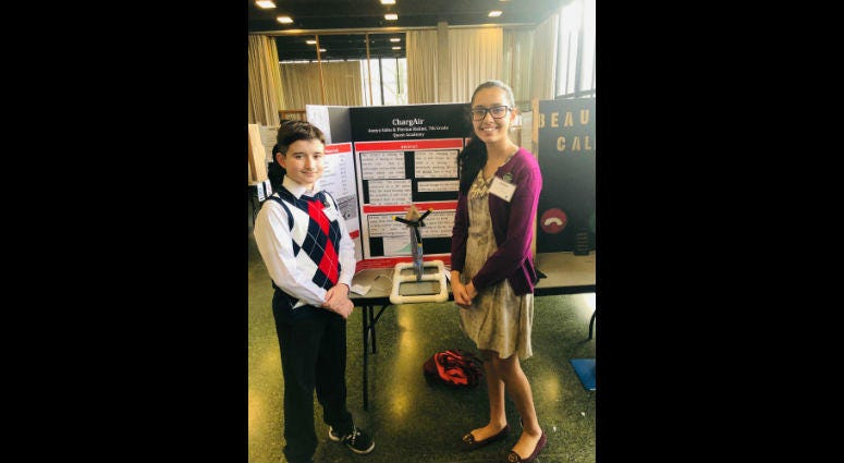 Aanya Sahu and Florian Halimi, Invention Convention