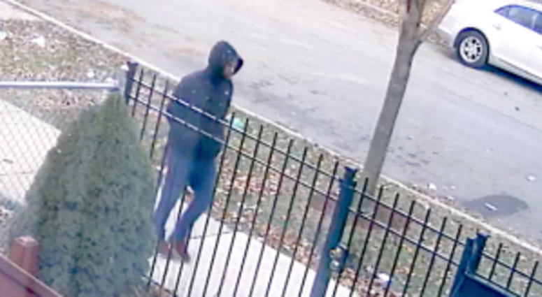 A video frame of a suspect police believe killed a 58-year-old man on Nov. 20 in the Lawndale neighborhood. | Chicago police
