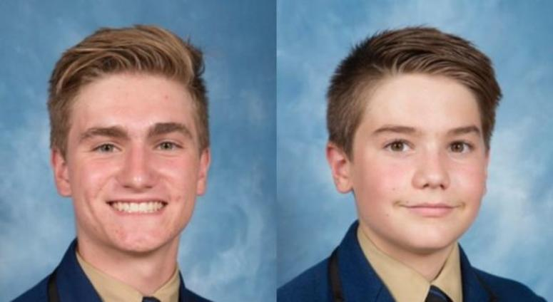 Ben Hollander (left) and Matthew Hollander