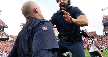 Matt Nagy Reflects On Bears-Broncos Win: 'They're Fighters'