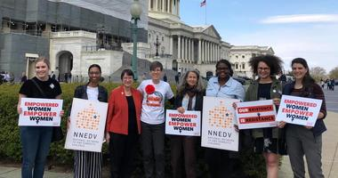 YWCA leaders visiting Capitol Hill to talk to lawmakers about advocating for legislative and policy priorities.