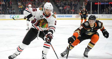 Kane Helps Blackhawks Rally To Win Over Ducks