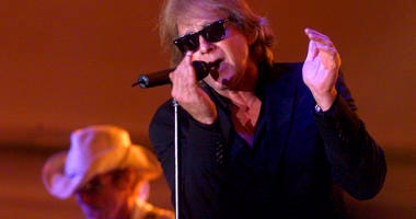 Eddie Money performs during Grandstand Under the Stars at the Diamond Jo Casino in Dubuque, Iowa.