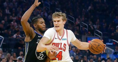 Chicago Bulls forward Lauri Markkanen