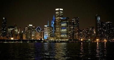 Chicago Lights The Town Teal For Ovarian Cancer