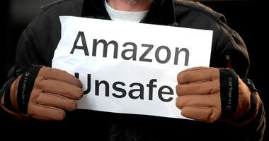 Amazon Protest Chicag