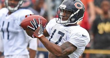 Bears receiver Anthony Miller